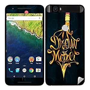 Theskinmantra Draw More Huawei Nexus 6P mobile skin