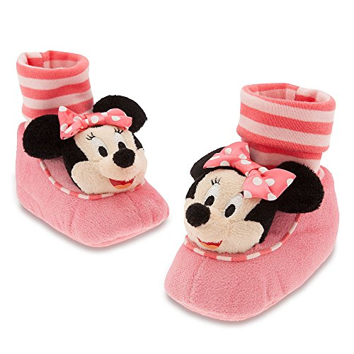 Disney Store Minnie Mouse Costume Plush Sock Slippers Baby 12-18 Months (12-18m)