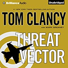 Threat Vector Audiobook by Tom Clancy, Mark Greaney Narrated by Lou Diamond Phillips