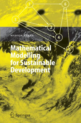 Mathematical Modelling for Sustainable Development (Environmental Science and Engineering)