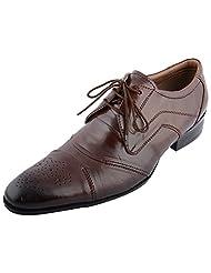 D.Desire Men's Leather Formals & Lace-Up Flats - B00Y1EPB4Q