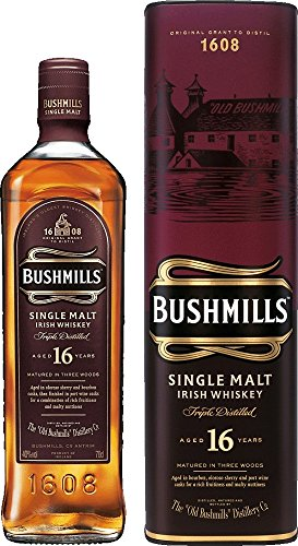 Bushmills 16 Year Old Single Malt Whiskey