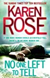 Karen Rose No One Left to Tell