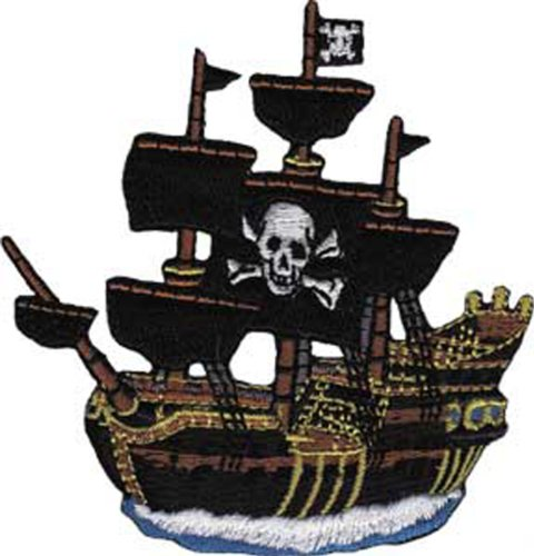 Application Pirate Ship Patch