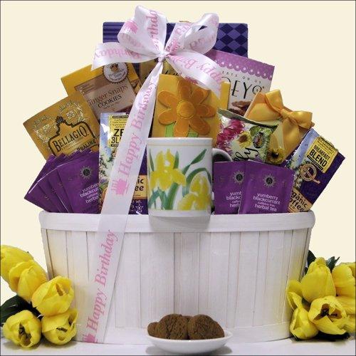 Zen Blend: Coffee & Tea Birthday Gift Basket