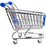 Mini Shopping Cart 4.9 Inches 1 Count Box 5.5 Inches