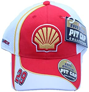 Kevin Harvick #29 Shell Racing Nascar Pit Cap Hat Adjustable by NASCAR