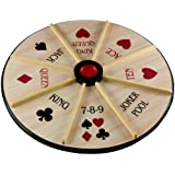 "Sterling Games 18"" Wooden Michigan Rummy~Double Sided"
