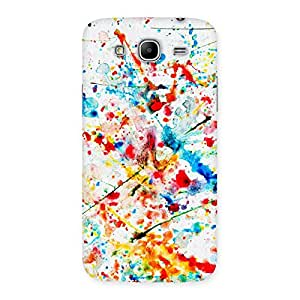Gorgeous Paint Scribble Multicolor Back Case Cover for Galaxy Mega 5.8