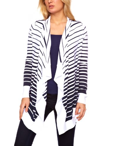 Henri Lloyd Zita Waterfall Stripe Women's Cardigan French Navy Small
