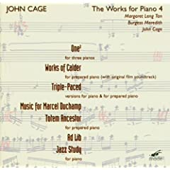 John Cage: The Works for Piano, Vol. 4