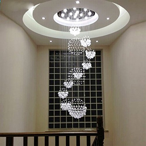 Linght w315 x h110 modern chandelier rain drop with 11 crystal linght aloadofball Gallery