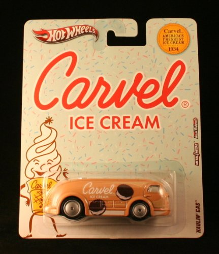HAULIN' GAS * CARVEL ICE CREAM * Hot Wheels 2012 Nostalgia Series 1:64 Scale Die-Cast Vehicle