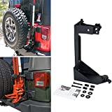 AUXMART Off-Road Jack Mount for 2007-2017 Jeep Wrangle JK