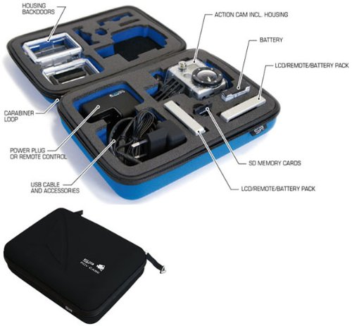 SP POV Carry Case for GoPro HD Hero/Hero 2 +