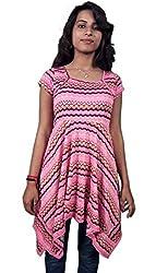 Miraaya Women's Tunic (M2429A_74591_Pink_XX-Large)