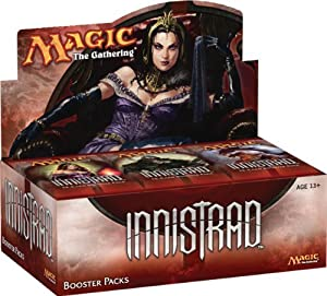 The Innistrad Set Contains 264 Cards (107 Common, 67 Uncommon, 59 Rare, 16 Mythic Rare, And 15 Basic Land). - Magic the Gathering Innistrad Booster Box 36 Packs