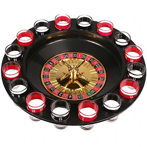 Generic Funny 16-cup Lucky Shot Drinking Roulette Game Set by oob