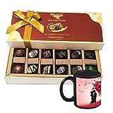 Alluring Chocolate Flavors With Mug - Chocholik Belgium Chocolates