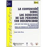 La Convención sobre los derechos de las personas con discapacidad: ¿Por qué una toma de conciencia? Una propuesta...