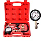 Professional Petrol Gas Engine Cylinder Compression Tester Gauge Kit Motor Auto