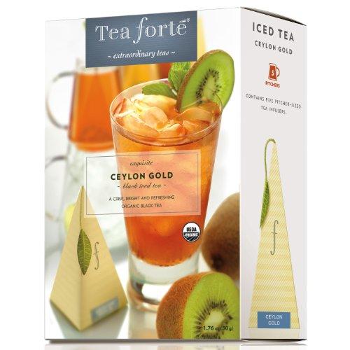 Organic Ceylon Gold by Tea Forte - Five Iced Teas