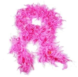 HAAC Federboa Feder Boa Farbe pink 180 cm für Fasching Karneval Party