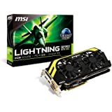 MSI NVIDIA GeForce GTX 680 2GB GDDR5 2DVI/HDMI/DispayPort PCI-Express Video Card (N680GTX LIGHTNING)