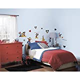 Roommates Mickey And Friends Peel & Stick Wall Decal, 30 Count – $7.99!