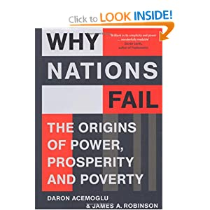 why nations fail a book The purpose of this essay is to review the books why nations fail by daron acem  the essay briefly discusses the main contributions of the books and t.