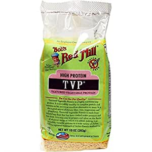 Bob's Red Mill - High Protein TVP (Textured Vegetable Protein), 10 Ounces (Pack of 4)