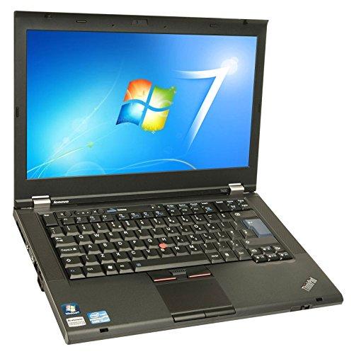 Lenovo thinkpad t420 laptop 14 inch notebook genuine windows 7 professional core i5 250ghz 4gb ram 320gb hdd dvd rw wireless webcam hd graphics wifi certified refurbished