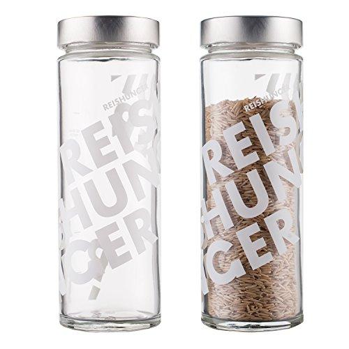 Reishunger Aufbewahrungsbehälter aus Glas