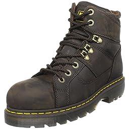 Dr. Martens Ironbridge Safety Toe Boot,Gaucho,9 UK/11 M US Women\'s/10 M US Men\'s