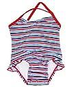 Snap Me Freedom Stripes One Piece InfantToddler Girls UV