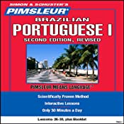 Portuguese (Brazilian) I, Second Revised Edition: Lessons 26 to 30: Learn to Speak and Understand Portuguese | [Pimsleur]