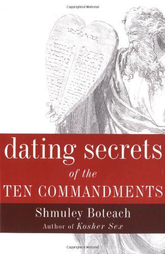 Dating Secrets Of The Ten Commandments front-596853