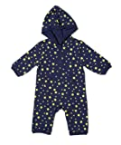 "Leveret Unisex-baby ""Designed"" Hooded Romper (1 Piece)"
