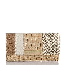 Soft Checkbook Wallet<br>Latte Sahara