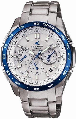CASIO (カシオ) 腕時計 OCEANUS オシアナス Classic Line クラシックライン タフソーラー 電波時計 TOUGH MVT MULTIBAND6 OCW-T600TDC-7AJF メンズ
