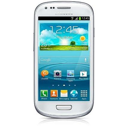 Samsung I8200 Galaxy S3 Mini Value Edition Smartphone débloqué (Ecran: 4 pouces) Blanc (import Italie)