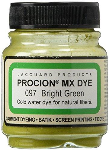 Deco Art Jacquard Procion Mx Dye, 2/3-Ounce, Bright Green