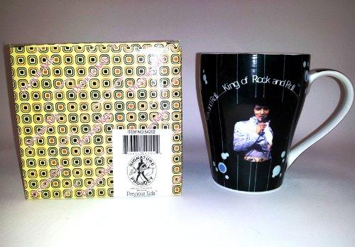 Elvis Presley 12Oz Coffee Mug W/ Gift Box Love Me Tender Song