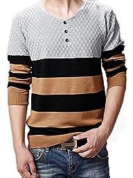 Wantdo Men Plus Size Shawl Collar Cardigan Sweater Grey Small/Tag 2XL,Grey,US Small,Asian size XXL