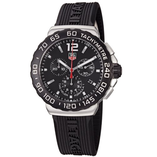 TAG Heuer Men's CAU1110.FT6024 Formula 1 Black