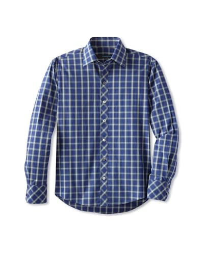 Zachary Prell Men's Gallagher Checked Sportshirt
