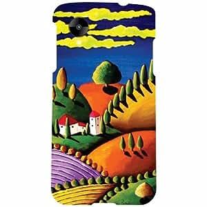 Back Cover For LG Nexus 5 LG-D821 -(Printland)