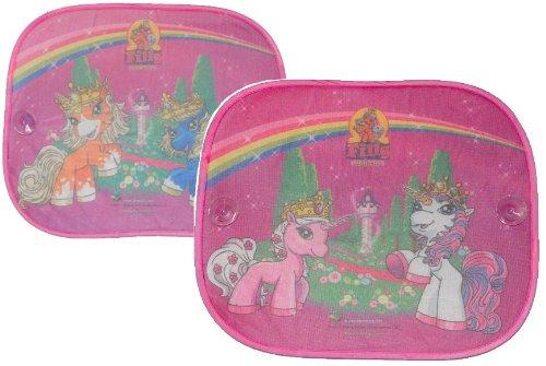 2 tlg. Set Sonnenschutz Filly Einhorn Magic Seitenscheibe Sonnenblende für Kinder Auto Pferd Mädchen