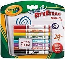 Comprar Crayola - Dry Erase, 8 mini rotuladores para pizarra blanca (98-2002)