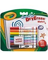 Crayola - 98-2002-E-000 - Loisir Créatif - 8 Feutres Effaçables à Sec Lavables